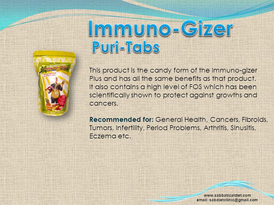 Immuno-Gizer Puri-Tabs