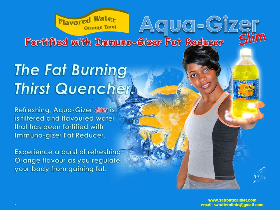 Fortified with Immuno-Gizer Fat Reducer