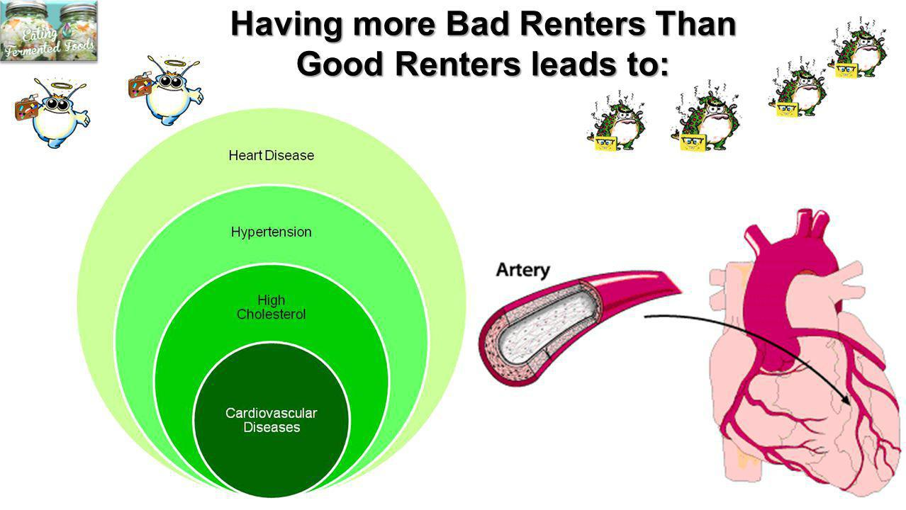 Having more Bad Renters Than Good Renters leads to: