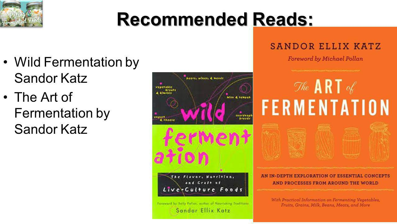 Recommended Reads: Wild Fermentation by Sandor Katz