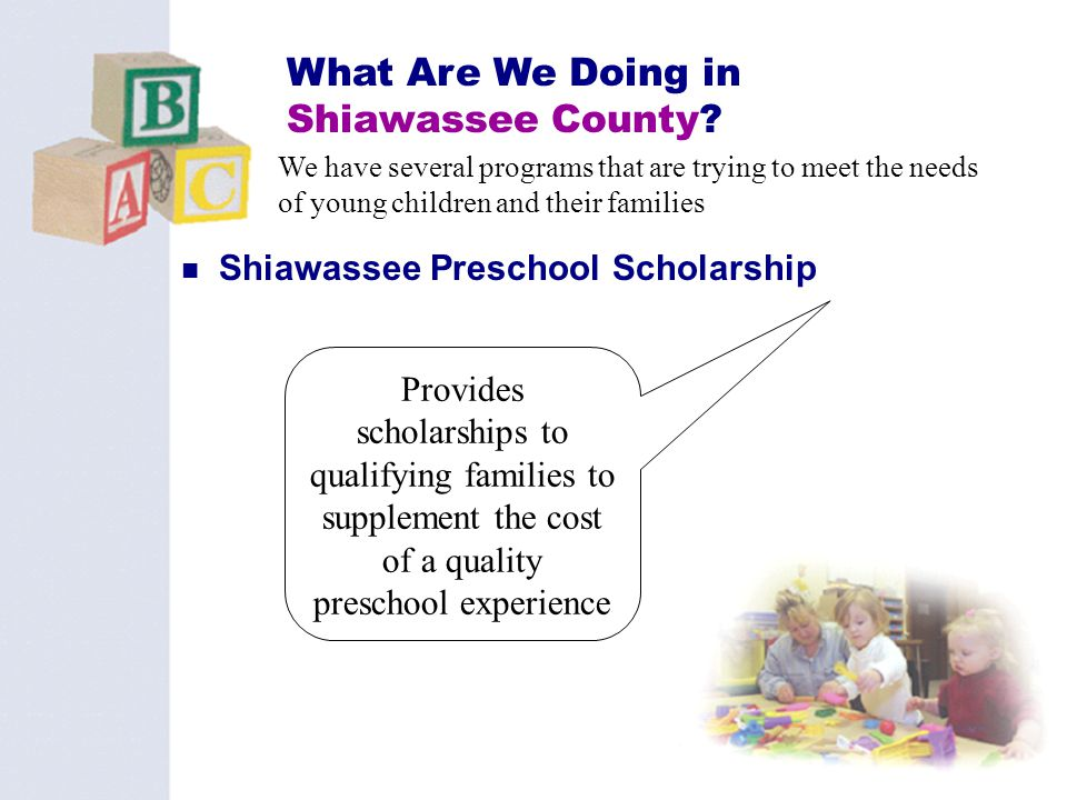 What Are We Doing in Shiawassee County