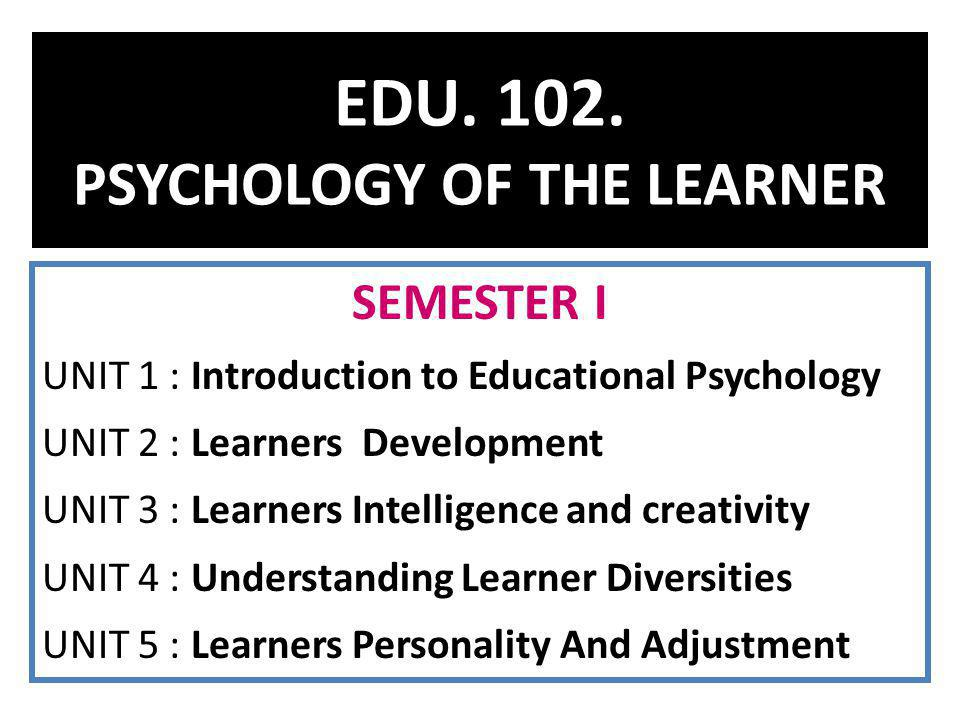 unit 2 introduction to personal development