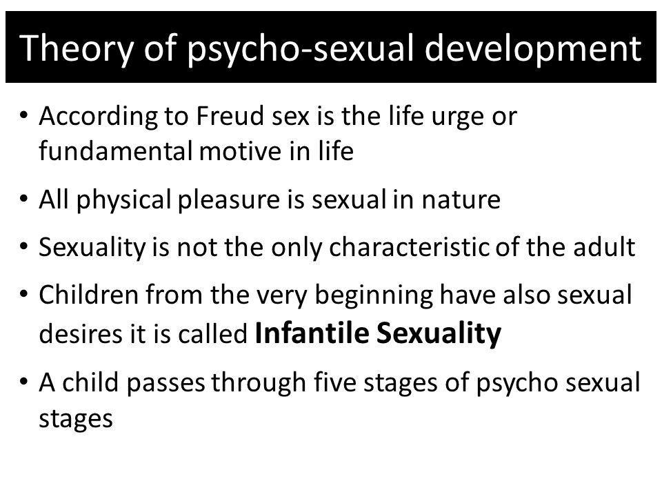 Theory of psycho-sexual development