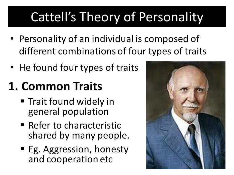 Cattell's Theory of Personality