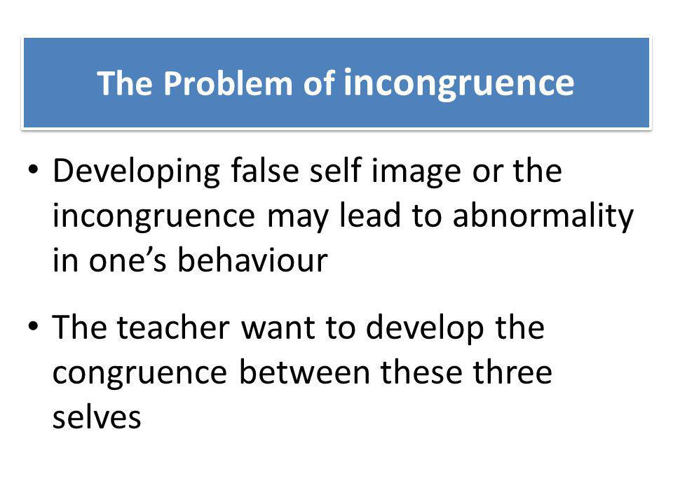 The Problem of incongruence