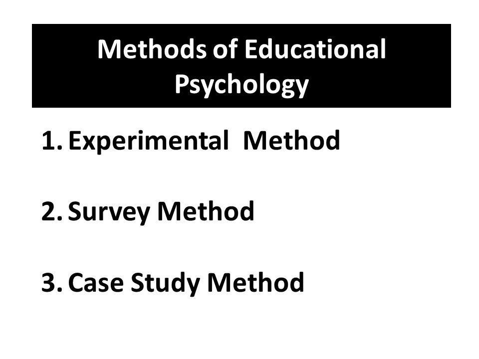 Complete information on the meaning and importance of case study method of Psychology