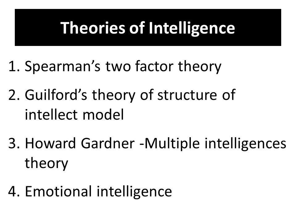 an essay on howard gardner and his theory of multiple intelligence Comparison of educational developmental theories: gardner's theory of multiple intelligence it is comprised of multiple choice and essay questions and.