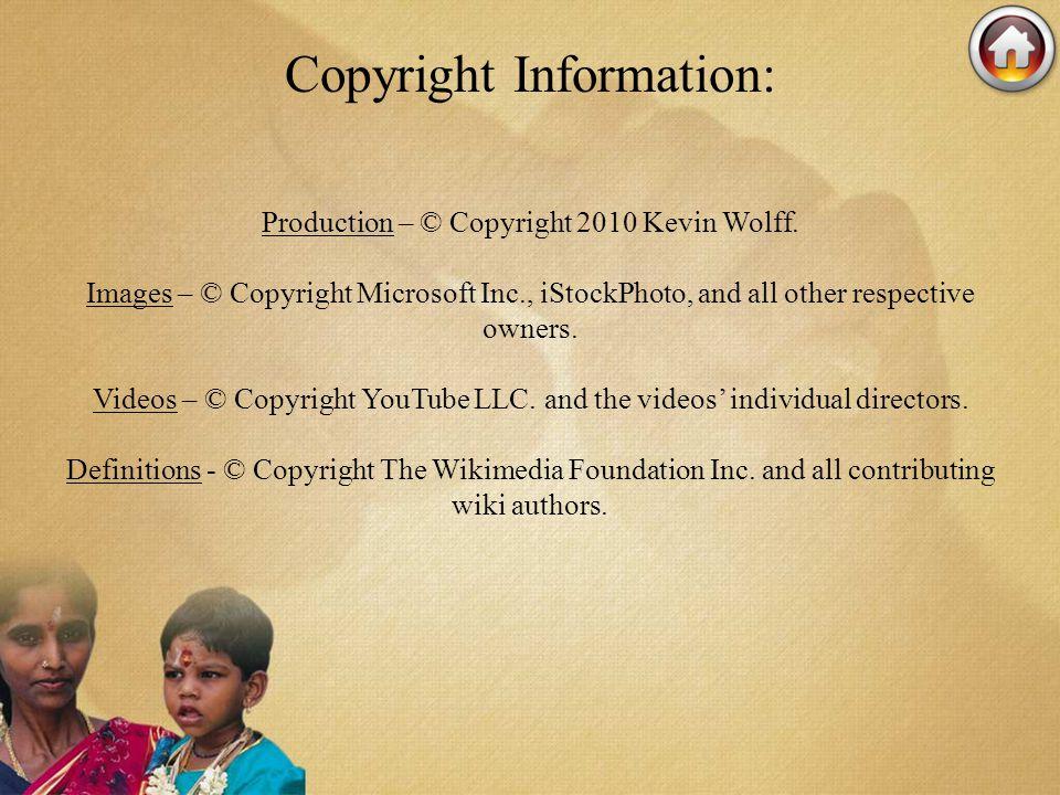 Copyright Information: