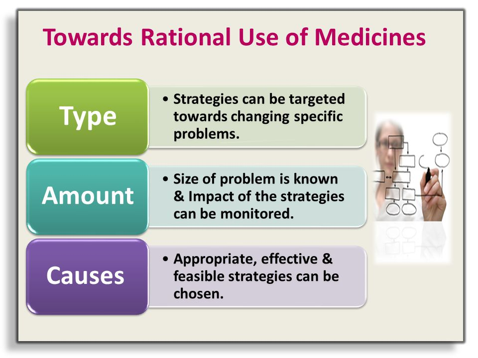 Towards Rational Use of Medicines