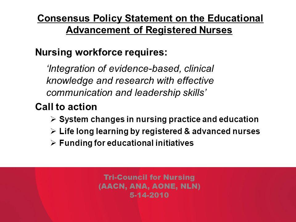 Tri-Council for Nursing