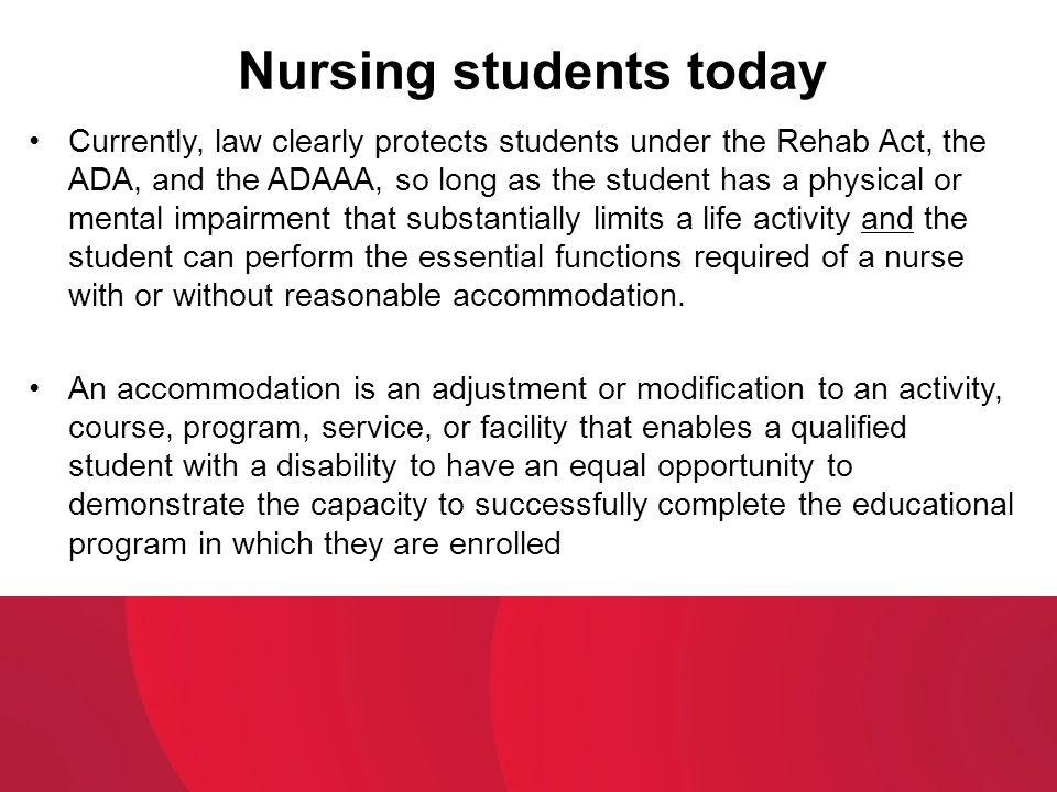 Nursing students today