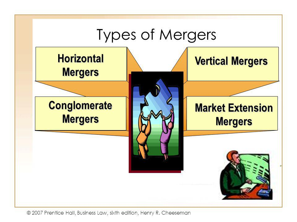 Market Extension Mergers