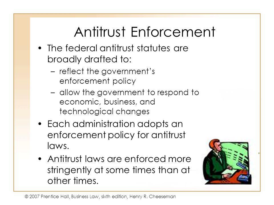 Antitrust Enforcement