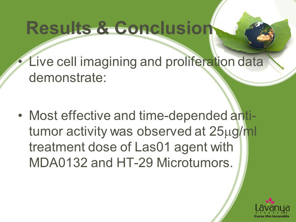 Results & Conclusion Live cell imagining and proliferation data demonstrate:
