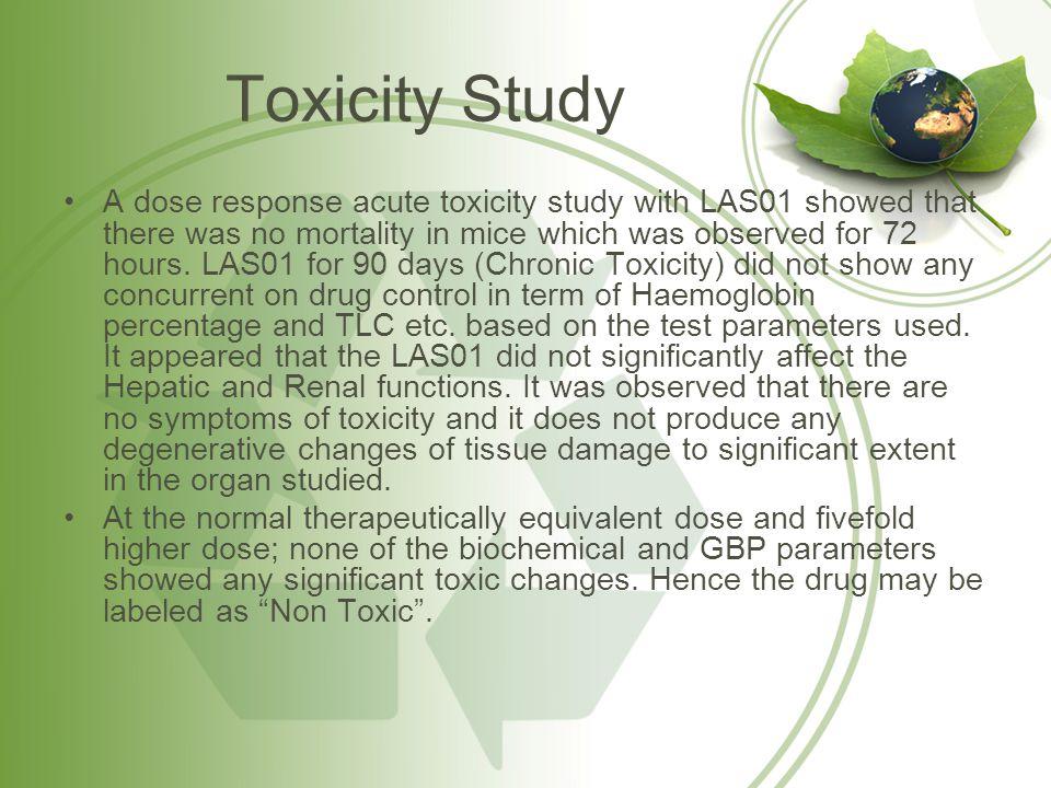 Toxicity Study