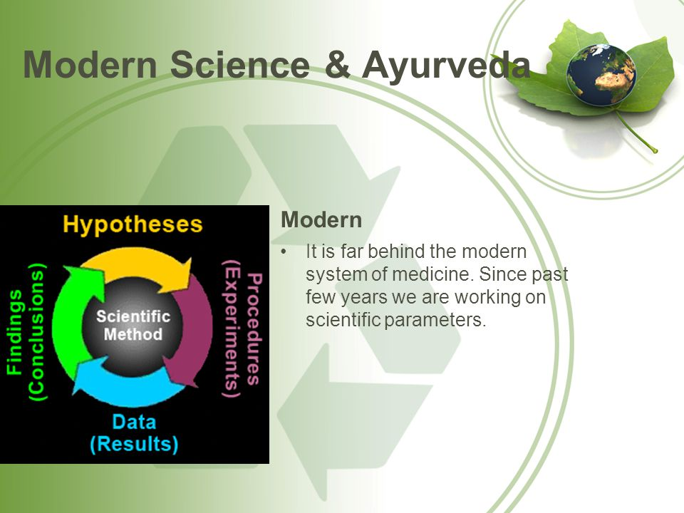 Modern Science & Ayurveda