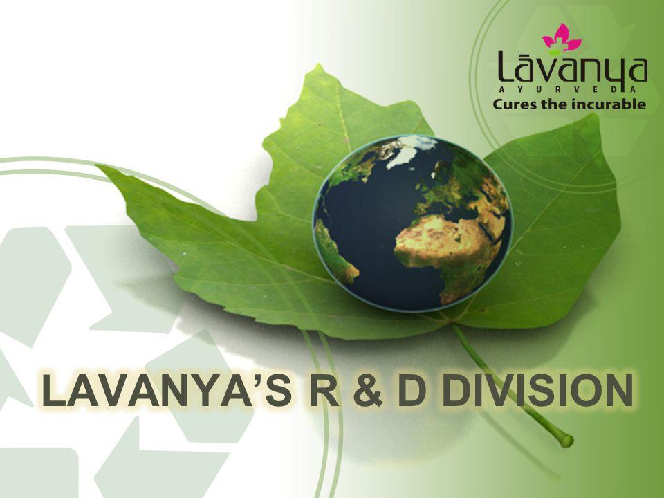 Lavanya's R & D Division