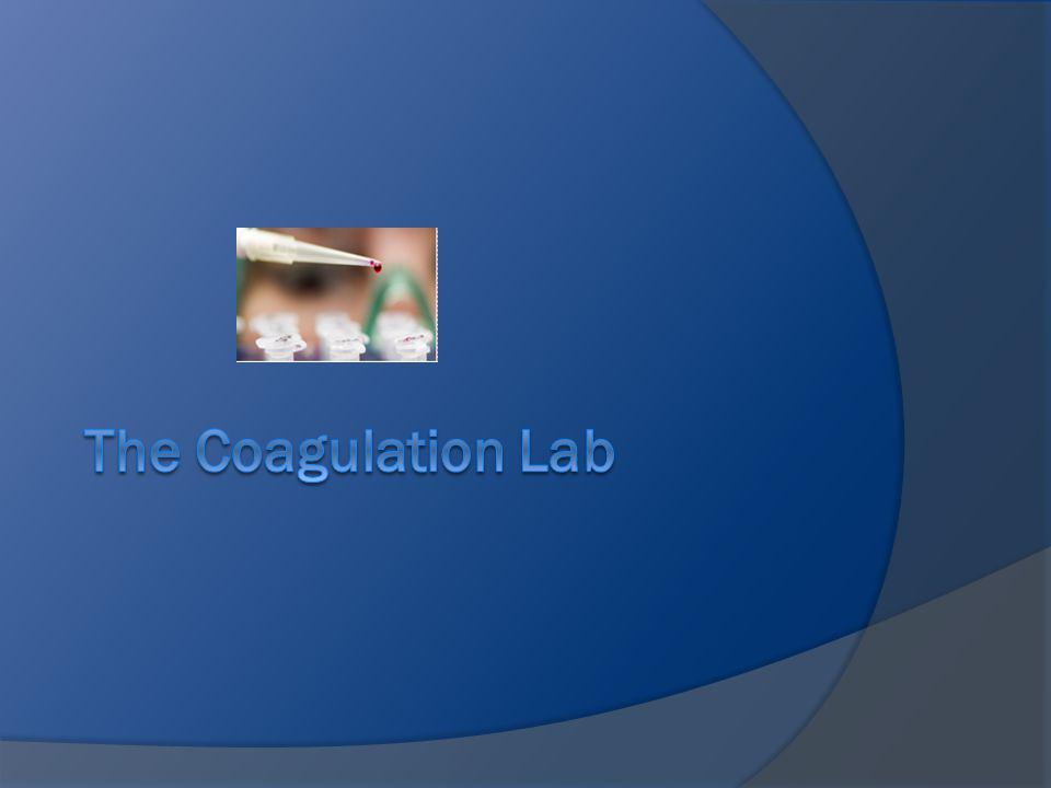 The Coagulation Lab