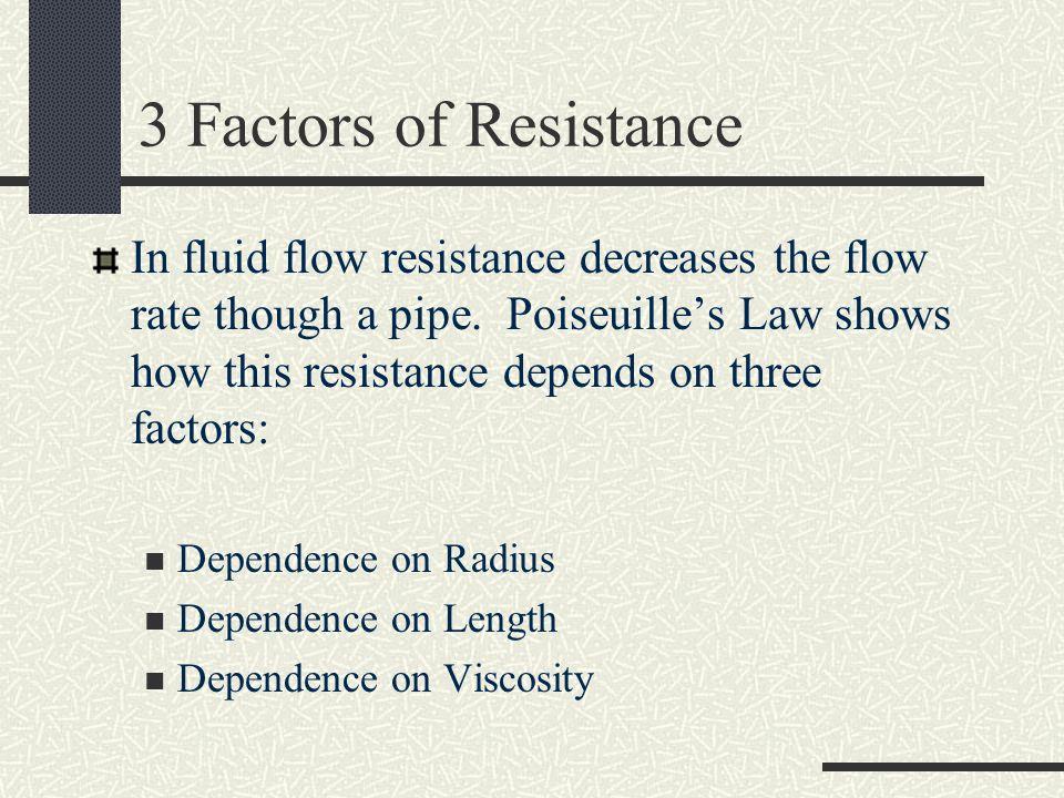 3 Factors of Resistance