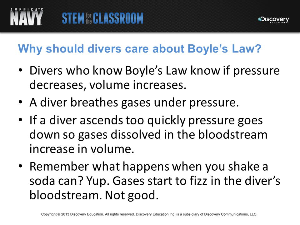 Why should divers care about Boyle's Law