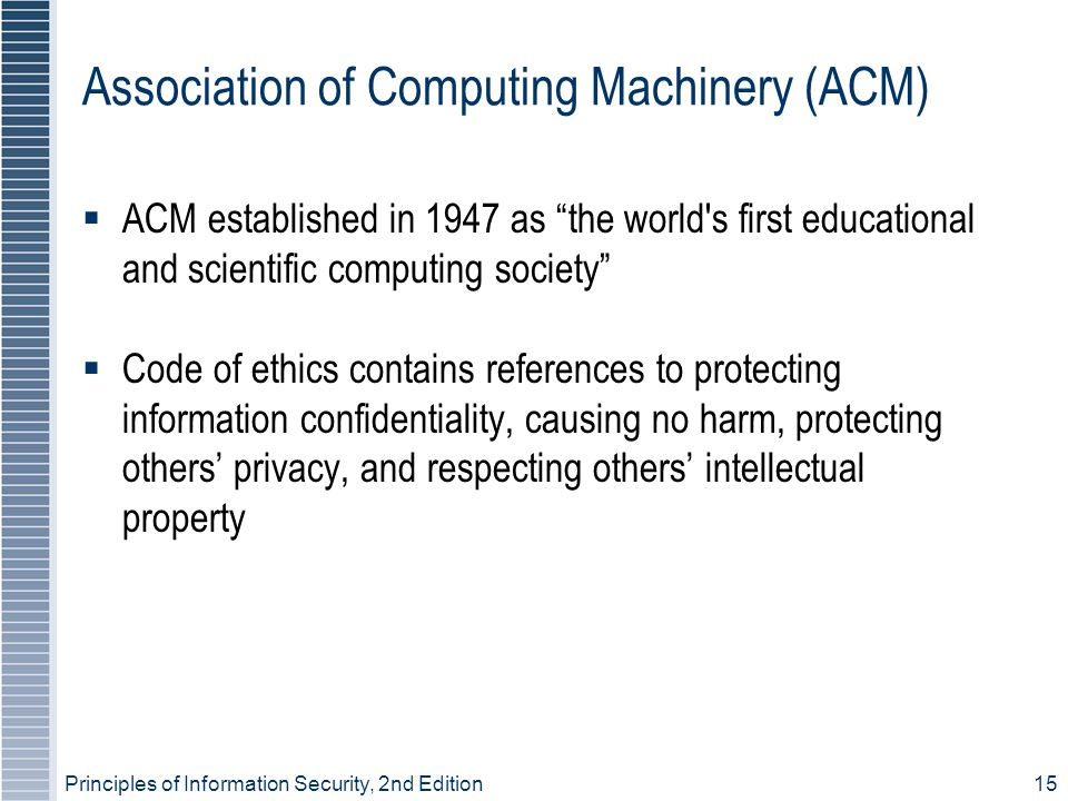 Association of Computing Machinery (ACM)