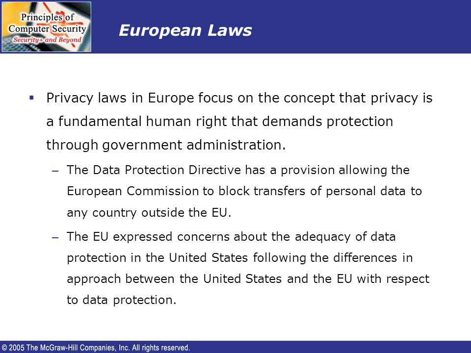 European Laws