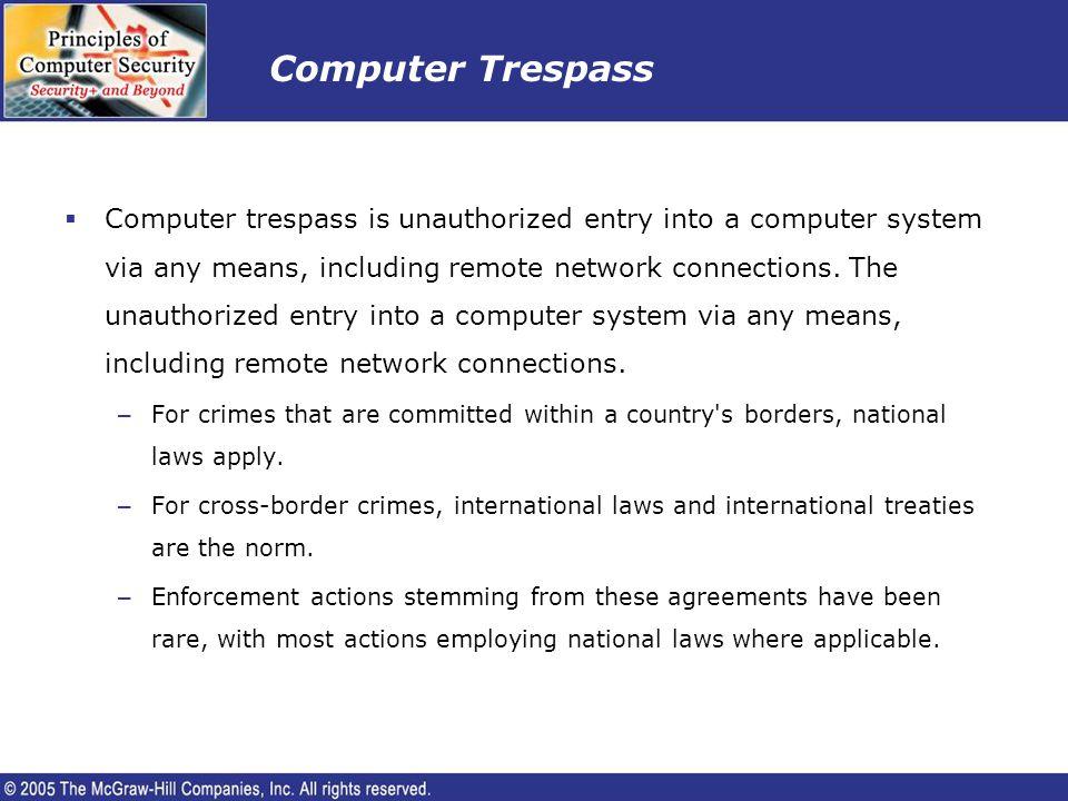 Computer Trespass