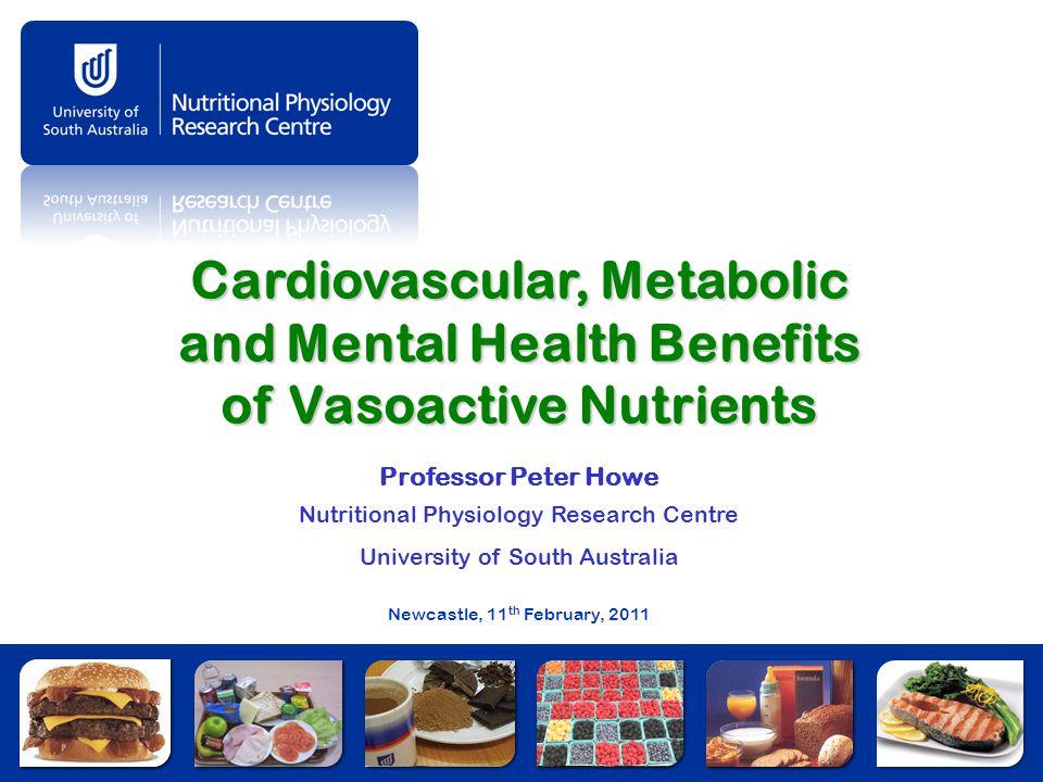 Cardiovascular, Metabolic and Mental Health Benefits of Vasoactive Nutrients