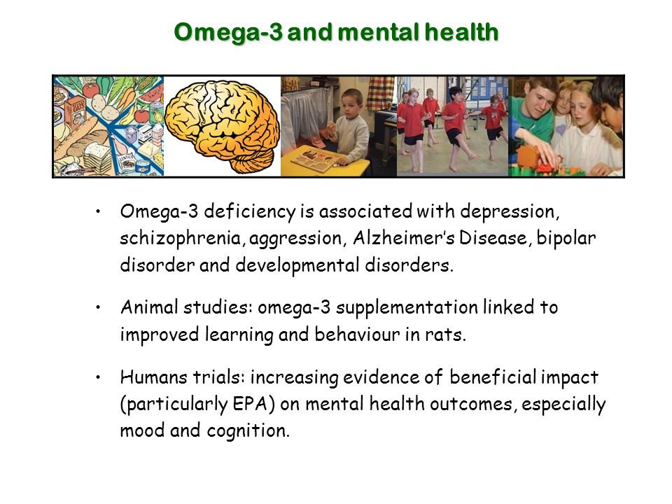 Omega-3 and mental health
