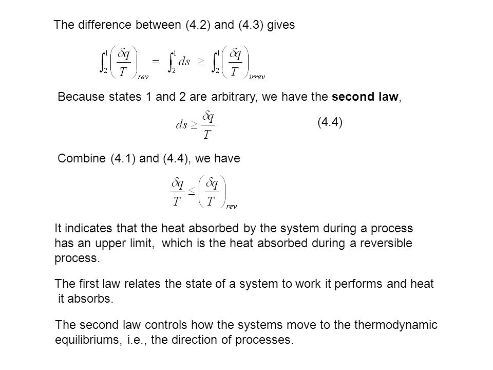 The difference between (4.2) and (4.3) gives
