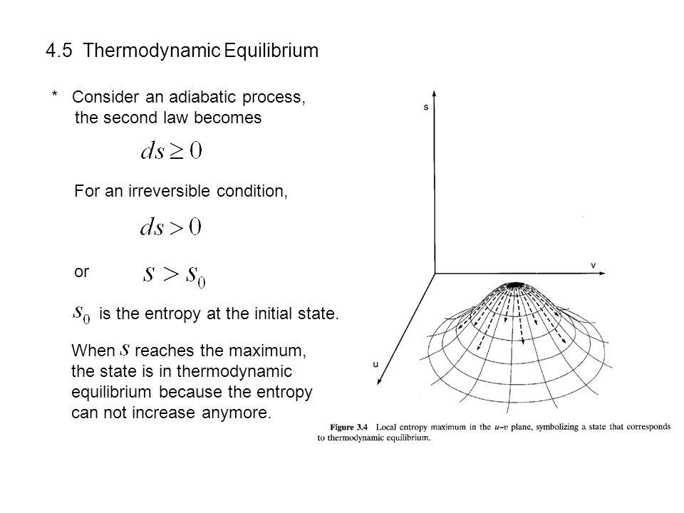4.5 Thermodynamic Equilibrium