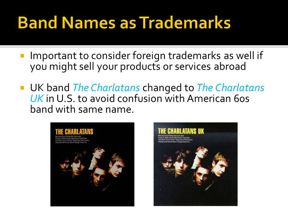 Important to consider foreign trademarks as well if you might sell your products or services abroad