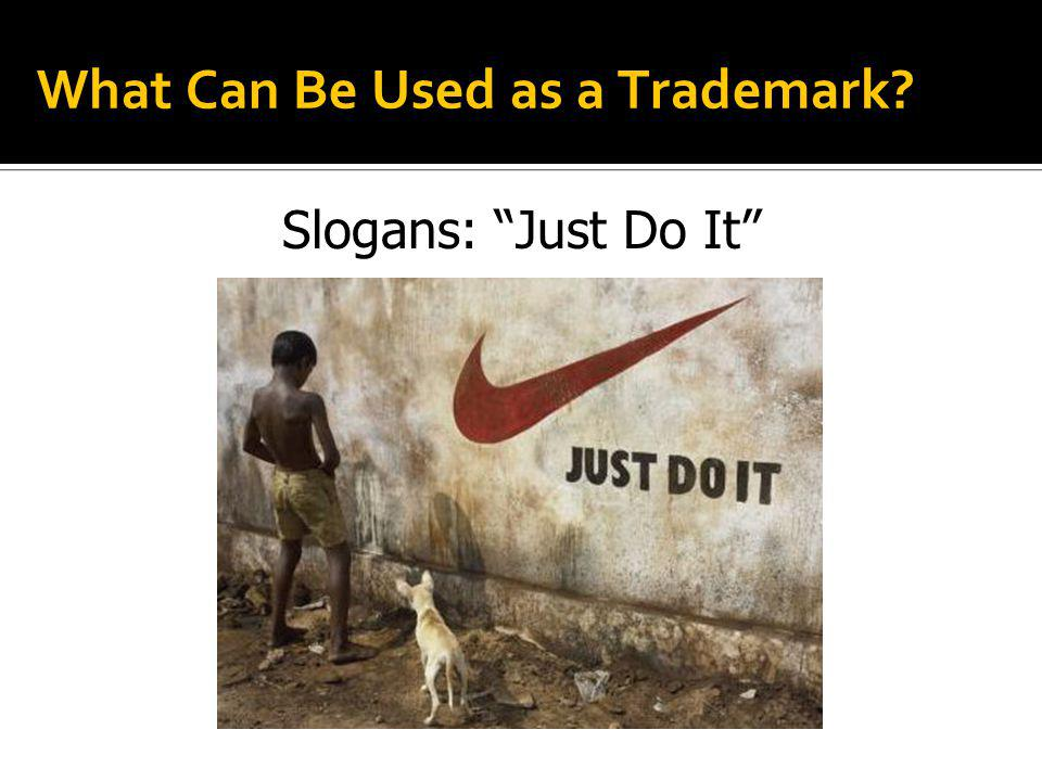 What Can Be Used as a Trademark