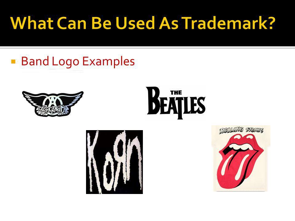 Band Logo Examples