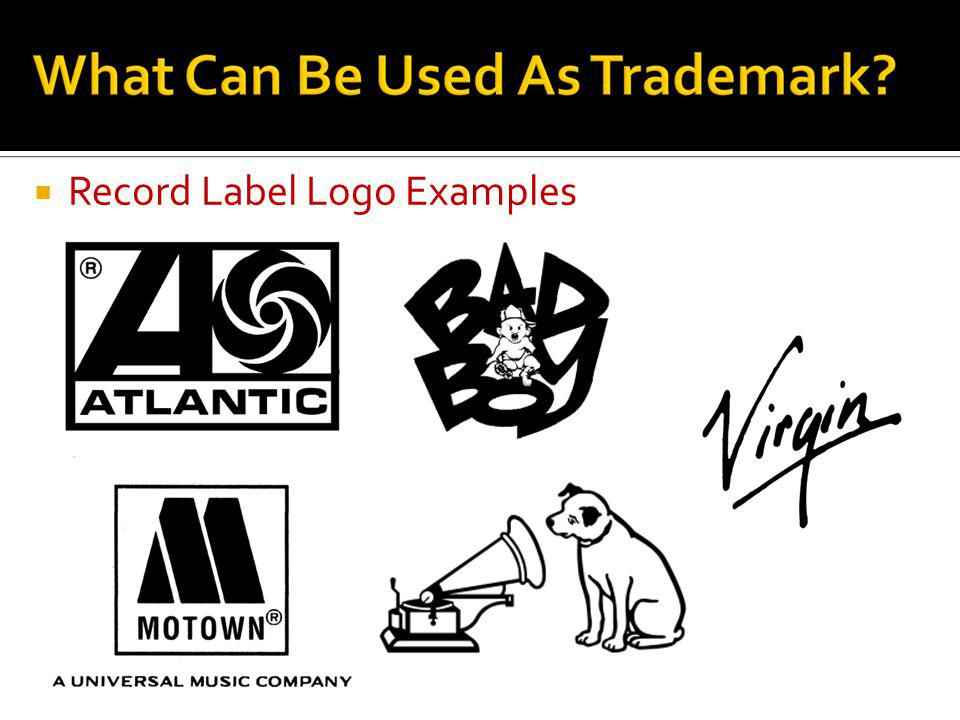 Record Label Logo Examples