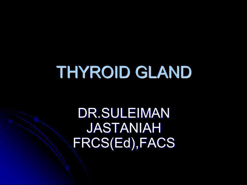 DR.SULEIMAN JASTANIAH FRCS(Ed),FACS