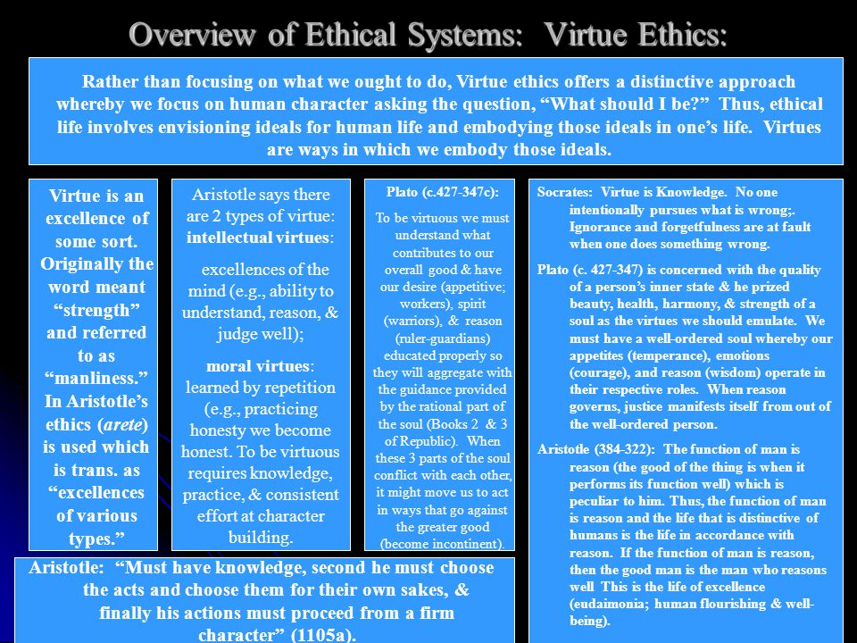 an overview of virtue ethics according to aristotle