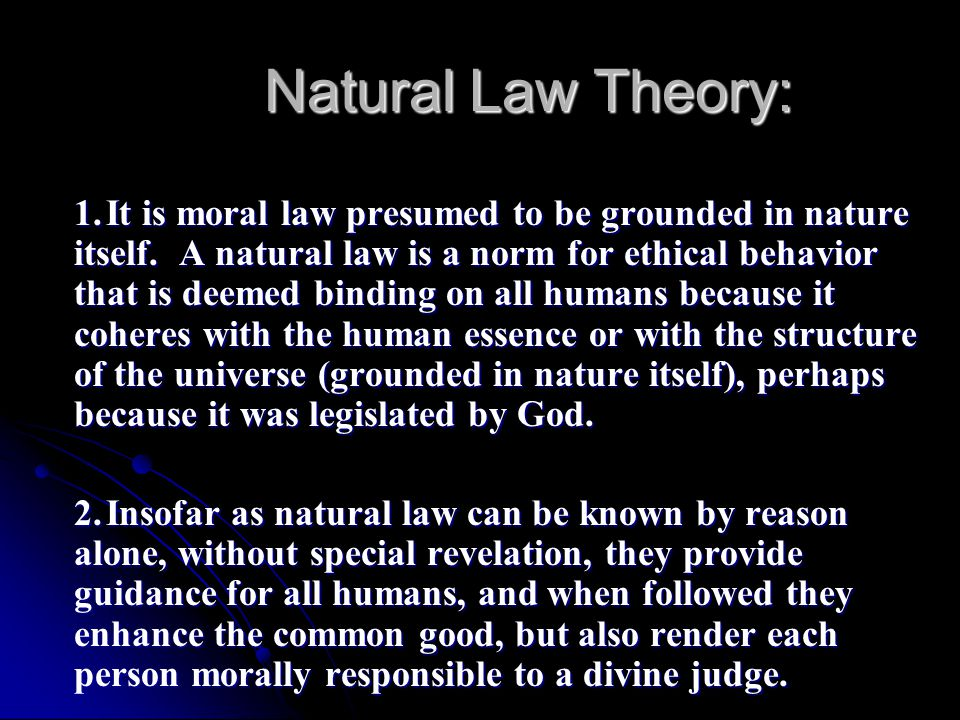 the natural law theory Aquinas's theory of natural law: an analytic reconstruction and millions of other books are available for amazon kindle learn more enter your mobile number or email address below and we'll send you a link to download the free kindle app.