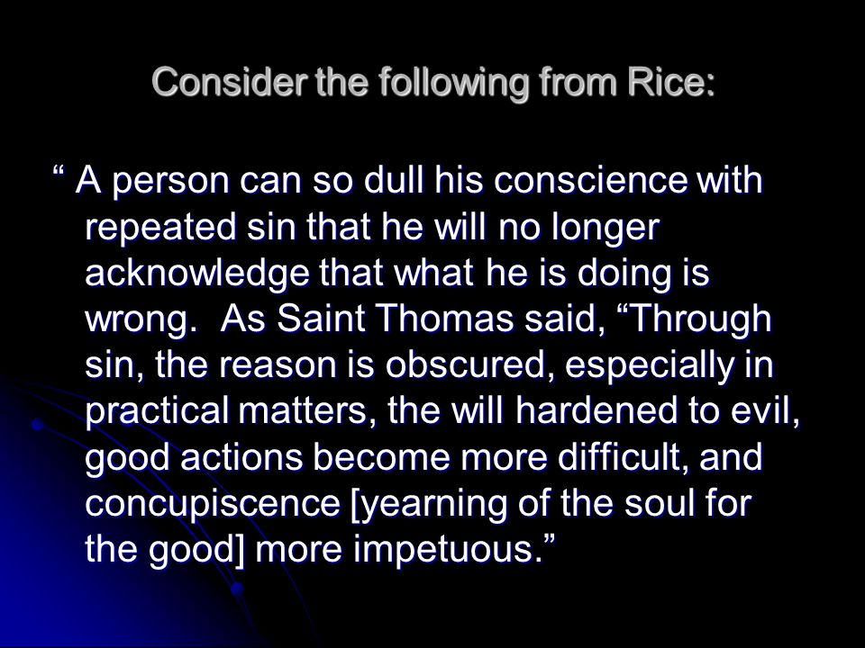 Consider the following from Rice: