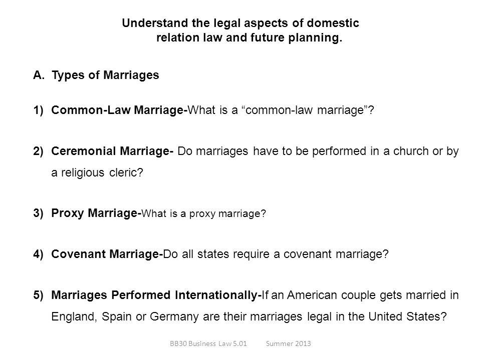Common-Law Marriage-What is a common-law marriage