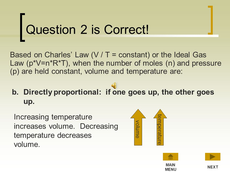 Question 2 is Correct!