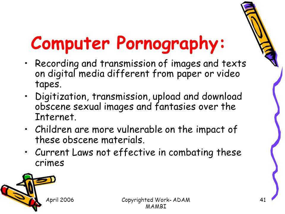 Computer Pornography: