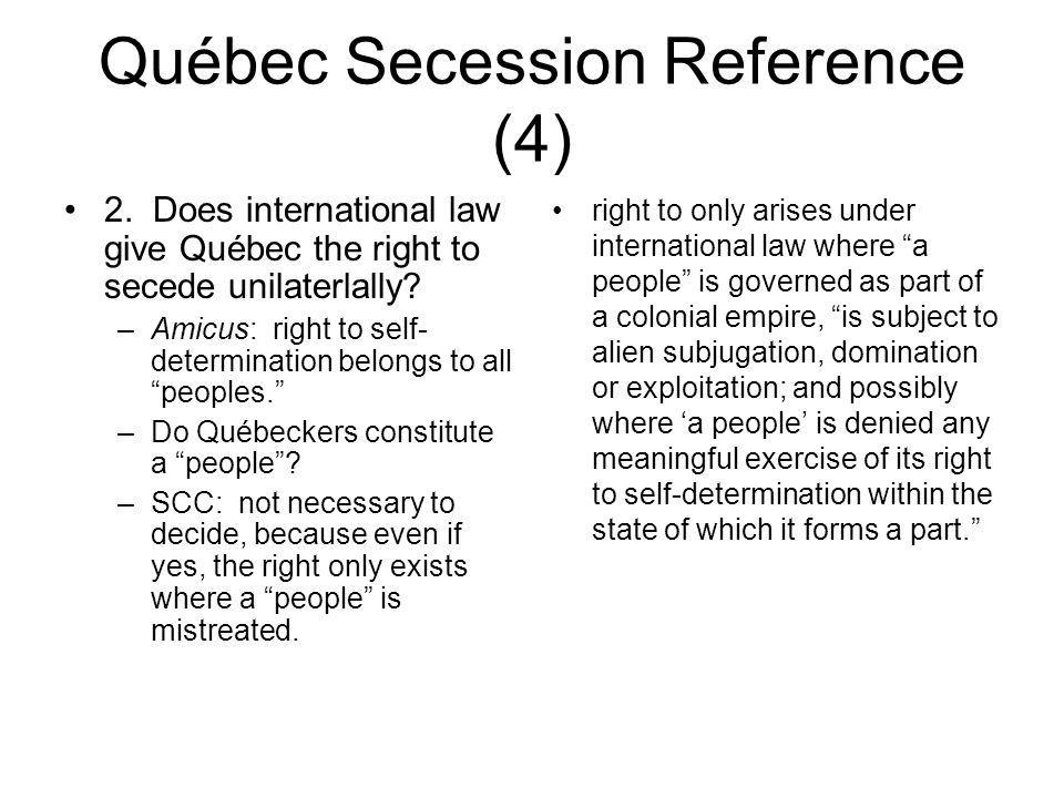 Québec Secession Reference (4)
