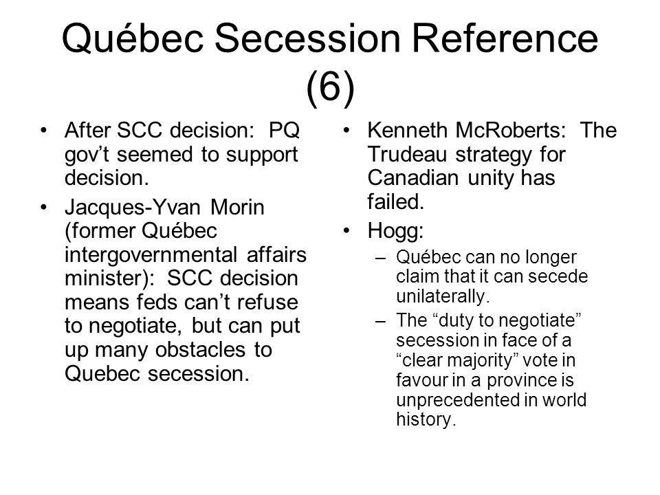 Québec Secession Reference (6)