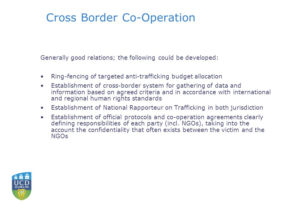 Cross Border Co-Operation