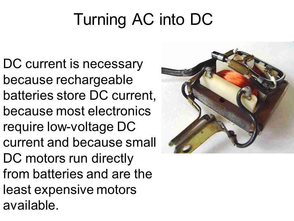 Turning AC into DC