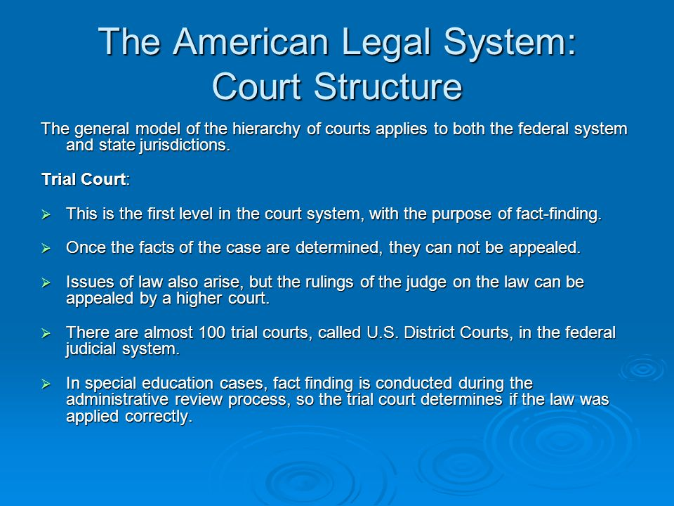 the problems in the american judicial system We like to believe that decisions made in us courts are determined by the wisdom of the constitution, and guided by fair-minded judges and juries of our peers unfortunately, this is often wishful thinking.