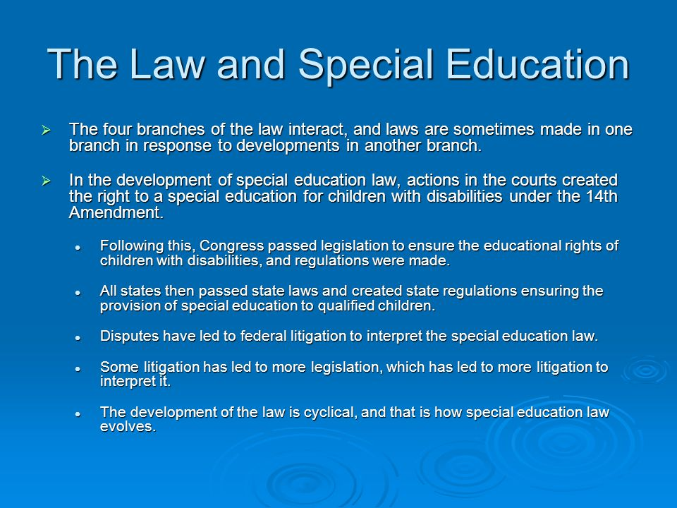 special education litigation and law benchmark The ultimate resource for success in special education―newly updated authored by two past presidents of the educational law association, this essential guide translates legalese into your language and allows you to focus on your core competency: providing excellent education for students with special needs.
