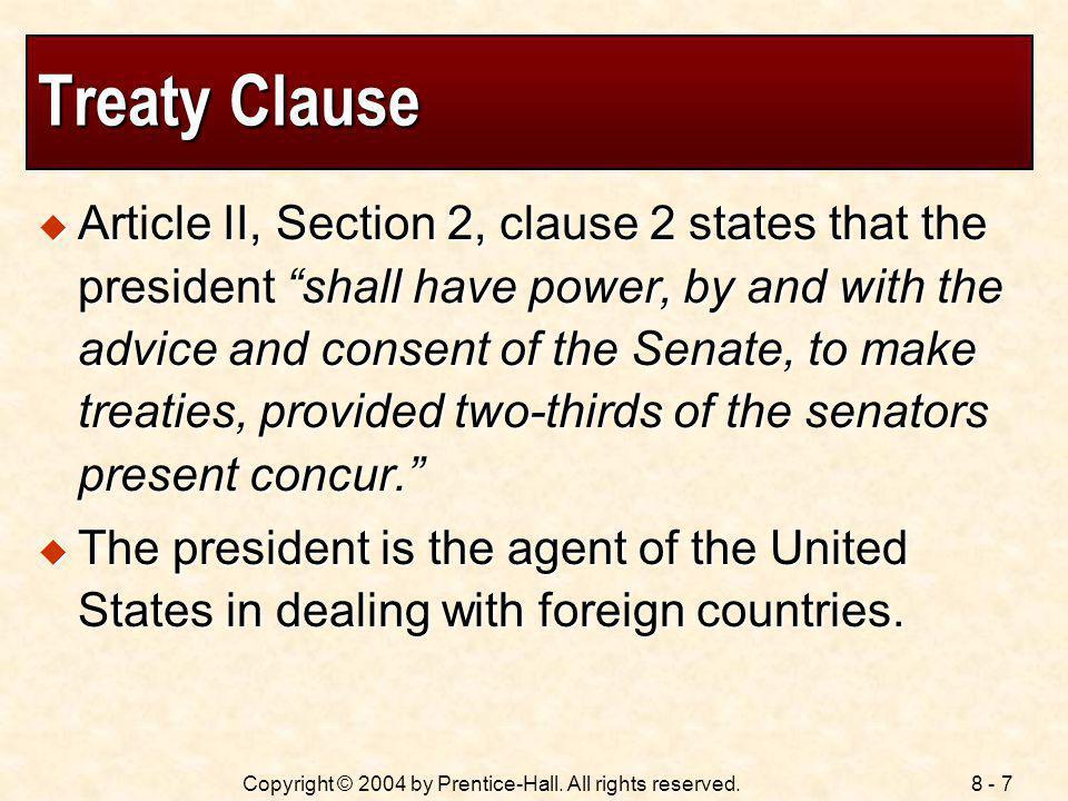 Treaty Clause
