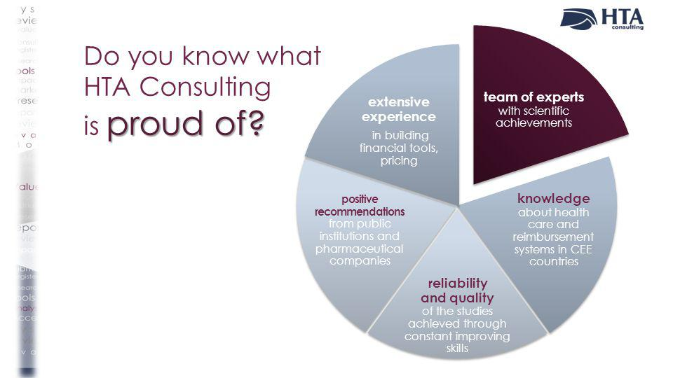 Do you know what HTA Consulting is proud of